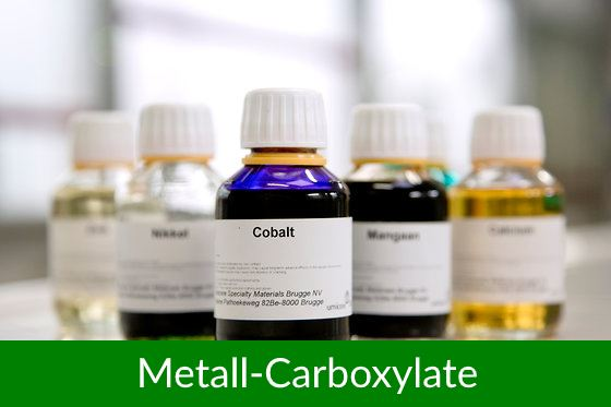 Metall-Carboxylate